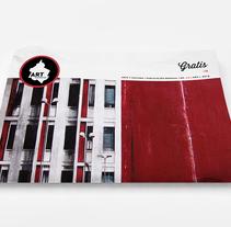 Art District # 2. Dirección editorial y edición gráfica. Publicación impresa gratuita. A Editorial Design project by Daniela García - 12-12-2013