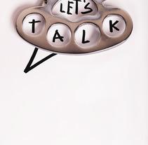 Let's talk. Um projeto de Fotografia e Design gráfico de Daniel Uria         - 01.12.2017