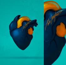 Colores del corazón.. Un proyecto de Ilustración, Publicidad y Diseño gráfico de Andres Gonzalez         - 01.12.2017