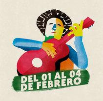Imagen para Festival Nacional de la Tonada - Tunuyán - Mendoza. Un proyecto de Diseño de Emanuel Valero         - 04.12.2017
