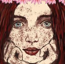 Nuevo proyecto: Retratos en Ps: Primavera. A Fine Art project by María Belén De Rienzo         - 04.12.2017