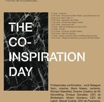 The Co-inspiration Day (networking). Um projeto de Design gráfico de Helena Garriga Gimenez         - 04.04.2015