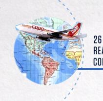 COPA AIRLINES - The History Channel - MARCAS QUE HACEN HISTORIA. Um projeto de Motion Graphics e Animação de Diego Mundarain - 14-10-2017