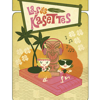 Las Kasettes POSTER. A Illustration, Music, and Audio project by clara soriano         - 15.06.2017