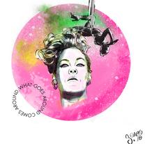 Mi Proyecto del curso: Retrato ilustrado con Photoshop. Un proyecto de Ilustración de Sara González         - 03.01.2018