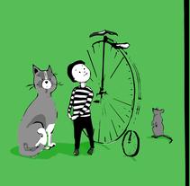 Ilustraciones infantiles. A Illustration project by LADEKE          - 09.01.2018