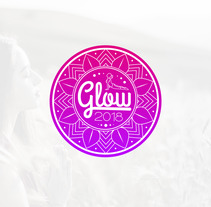 Logo Glow 2018. A Br, ing, Identit, and Graphic Design project by Esteve Capella         - 11.01.2018