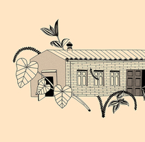 "Curious Garden. A Design&Illustration project by ""lanómada"" Lisbel Gavara - Illustration - 11-01-2018"