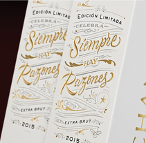 Chandon Edición limitada. A Design, Packaging, and Lettering project by Diego Giaccone - 24-01-2018