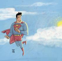 Superman II. Um projeto de Ilustração e História em quadrinhos de KIKE J. DÍAZ         - 29.01.2018