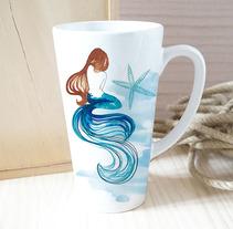 Colección OCEAN BLUE- pattern design. Um projeto de Design, Ilustração, Design de acessórios, Design de produtos e Diseño de patrones de Rebeca Martín Martínez         - 29.01.2018