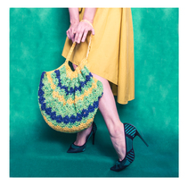 Mi little bag of Grass and Sunshine. A Design, Photograph, Accessor, Design, Art Direction, Costume Design, Crafts, Fashion, and Marketing project by Mila Chirolde         - 01.02.2018