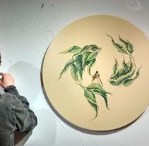 Muestra de Dibujo y Pintura Espacio Pétula Plas. Um projeto de Artes plásticas de Adrián Pereda Pascual         - 07.02.2018