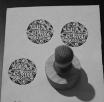 ex libris jorge alcocer. A Calligraph project by Jorge         - 16.02.2018
