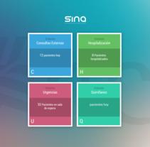 SINAH SUITE - HIS/EHR- Alfatec. A UI / UX project by Pàul Martz         - 18.02.2016