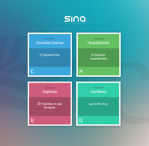 SINAH SUITE - HIS/EHR- Alfatec. Un proyecto de UI / UX de Pàul Martz         - 18.02.2016