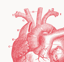 Identidad del programa de reuniones para el avance cardiovascular. A Br, ing, Identit, and Graphic Design project by Alba Parera         - 19.02.2018
