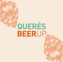 BEERUP - Landing Page. Um projeto de Design gráfico, Tipografia e Web design de Matias Altamirano         - 21.02.2018