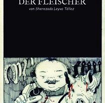 """Cómic (fragmento) traducido al alemán, ganador del certamen """"Viñetas por mis calles"""", parte del año dual México-Alemania. Un proyecto de Comic de Sherezada Leyva         - 25.02.2018"""