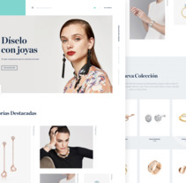 Jewelry Store. A UI / UX project by Xavi Puig Hernandez         - 27.02.2018