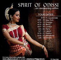 Spirit of Odissi. A Design, Art Direction, and Graphic Design project by Nieves Gonzalez         - 04.03.2018