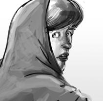 Mi Proyecto del curso: Ilustración de storyboards para Cine y Publicidad<3e. Um projeto de Ilustração de Manuel María López Luque         - 12.03.2018