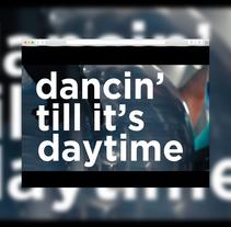 Video Lyrics (Dirty Love - Wilkinson). Um projeto de Motion Graphics de Celia López Antequera         - 16.02.2018