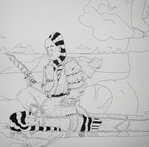 Trabajos esporádicos . Um projeto de Ilustração de hamedb         - 09.03.2018
