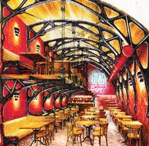 ALGUNAS ANTIGUAS PERSPECTIVAS 1995 1997. Um projeto de Arquitetura de interiores de Arquitecto Roberto Paz         - 22.12.1997