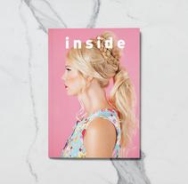 Mi Proyecto del curso: Introducción al Diseño Editorial//Inside Magazine. A Editorial Design project by lafifi diseñadora gráfica/delineante         - 14.03.2018