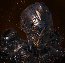 Hell robot. A 3D project by Alejandro Montero Gätjens         - 14.03.2018