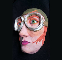 Máscaras II. A Character Design, Crafts, Painting, and Sculpture project by Marina COCHET         - 15.03.2018