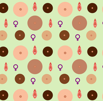 NANTLI nuevas madres  y feminismo Patterns. A Pattern design, and Vector illustration project by Morgan Mariana Guido         - 26.03.2018