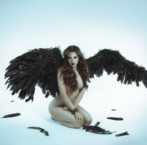 Dark Angel. Un proyecto de Fotografía y Retoque digital de Rebeca Saray         - 30.03.2018