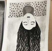 Mi Proyecto del curso: Introducción a la ilustración con tinta china. A Fine Art project by MARIA VERONICA H LOPEZ         - 04.04.2018