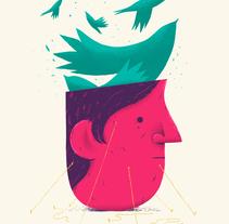 Free your mind. Um projeto de Ilustração, Design editorial e Artes plásticas de Fran Pulido         - 04.04.2018