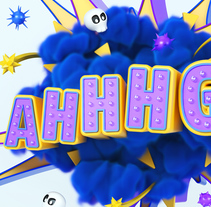 Santalucia AHHHG!!. A Advertising, 3D, and Lettering project by JVG         - 09.04.2018