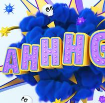 Santalucia AHHHG!!. Un proyecto de Publicidad, 3D y Lettering de JVG         - 09.04.2018