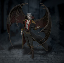 Vampire. Un proyecto de 3D de Aitor Regidor Vallcanera         - 11.04.2018